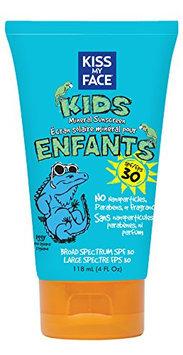 Kiss My Face Kids Mineral Sun spray Natural Sunscreen Lotion SPF 30 Sunblock