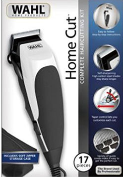 Wahl 9243-4724 HomeCut 17 Piece Complete Hair Clipper Cutting Kit