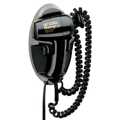 Andis 30220 Hangup 1600W Hair Dryer with Cord Hanger