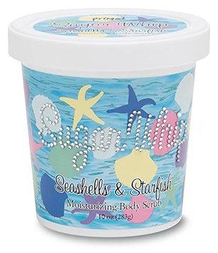 Primal Elements Sugar Whip Seashells and Starfish Body Scrub