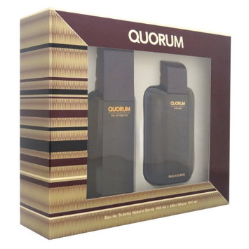 Antonio Puig Quorum Men Giftset (Eau De Toilette Spray