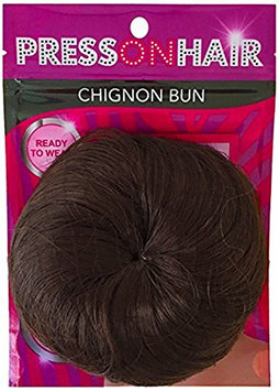 Press On Hair Chignon Bun Hair Extension