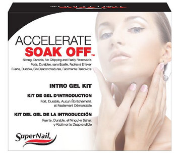 Supernail Soak Off Gel Accelerate Intro Kit