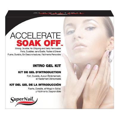 Supernail Soak Off Gel Accelerate Intro Kit