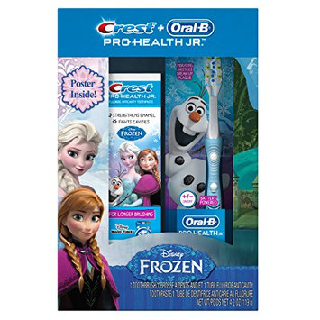 Oral-B Crest and Pro-Health Junior Disney Frozen Toothpaste Special Pack