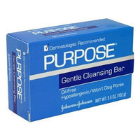 Purpose Johnson and Johnson Gentle Skin Cleansing Bar Soap