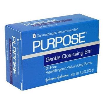 Purpose Johnson and Johnson Gentle Skin Cleansing Bar Soap