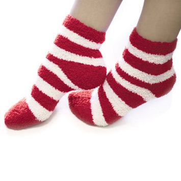 Accessories By Upper Canada Peppermint Cozy Socks