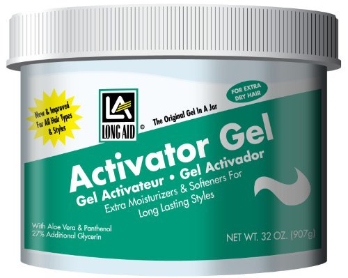 long aid curl activator gel with aloe vera
