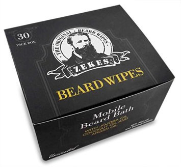 Zekes Original Beard Wipes (30 Pack)