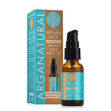 Arganatural Shea Moisturizing Face Oil