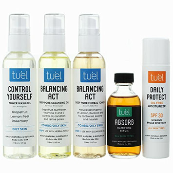 Tu'el Skincare Oily Skin Care Set