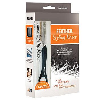 Feather Detail Razor with Intro Kit