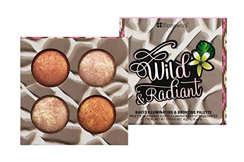 BH Cosmetics Wild and Radiant Palette Face Bronzer