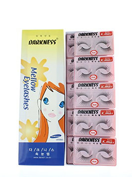 Darkness False Eyelashes K-ma 4 (Pack of 10)