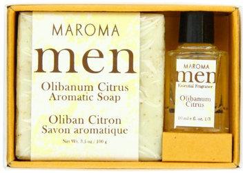 Maroma Olibanum Citrus Men Gift Set