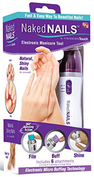 Finishing Touch Naked Nails - Electronic Nail Care System - File