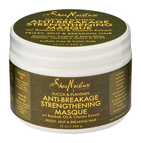 SheaMoisture Yucca & Plantain Anti-Breakage Strengthening Masque w/ Baobob Oil & Cilantro Extract