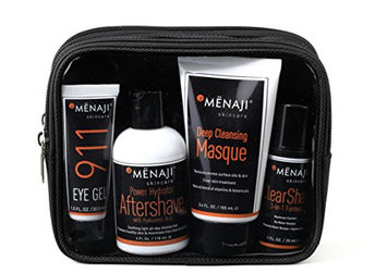 Mënaji David Expandable Dopp Kit Skincare Set