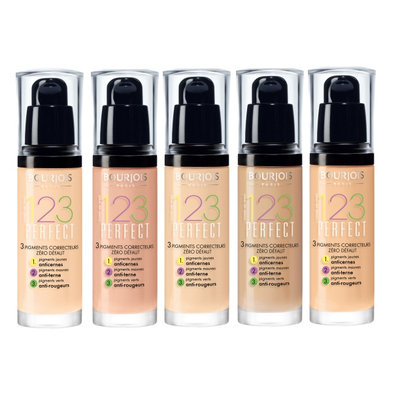 Bourjois 1,2,3 Perfect Foundation