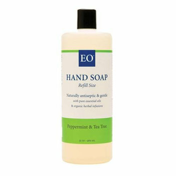EO Products Liquid Hand Soap Peppermint and Tea Tree 32 fl oz