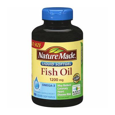 Nature Made Fish Oil Liquid Softgels Value Size