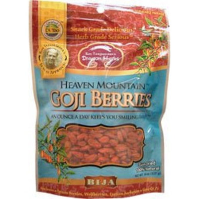 Flora Dragon Herbs Heaven Mountain Goji Berries - 8 oz