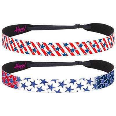 Hipsy Women's Adjustable No Slip American Pride Stars and Stripes Multi Pack