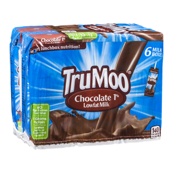 TruMoo Lowfat Milk Containers Chocolate 1% - 6 CT