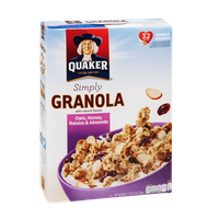 Quaker Simply Granola Oats, Honey, Raisins & Almonds