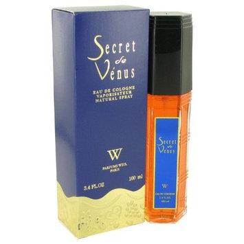 Secret De Venus By Weil Paris For Women. New Formula, Eau De Cologne Spray 3.4 Ounces