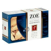 Zoe Diva Select Ventresca Tuna, 4-Ounce Tin (Pack of 5)