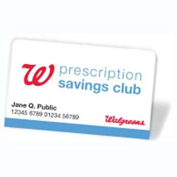 Prescription Savings Club Individual Membership Card