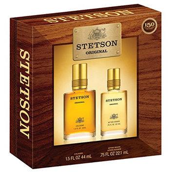 Stetson Original 2 Piece Gift Set (1.5 Ounce Cologne Pour Plus 0.75 Ounce Aftershave)
