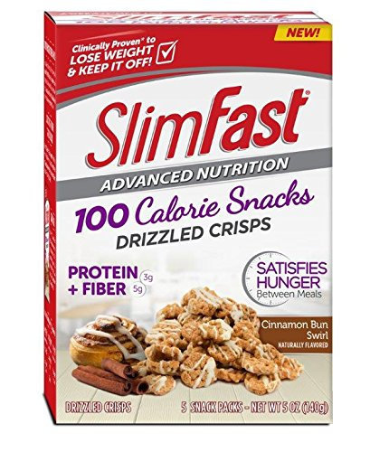 slimfast advanced nutrition 100 calorie snacks drizzled crisps cinnamon bun swirl reviews. Black Bedroom Furniture Sets. Home Design Ideas
