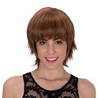 Generic Short Fluffy Straight Style Synthetic Wig