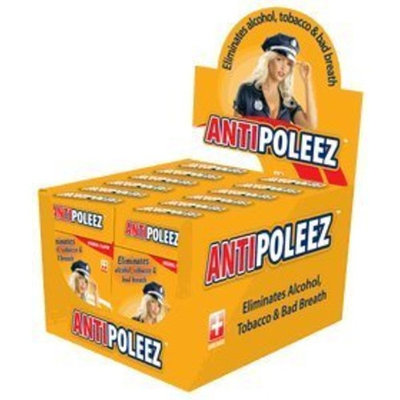 AntiPoleez Frat pack - Alcohol and Bad Breath Eliminator (12 individual packs) 360 Drops.
