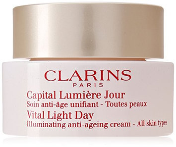 Clarins Vital Light Day Illuminating Anti-Ageing Cream for Unisex