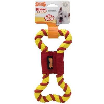 Nylabone Rhino Rubber Tug Dog Toy, Small