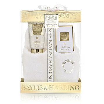 Baylis and Harding Gift for Her Sweet Mandarin and Grapefruit Luxury Slipper Set
