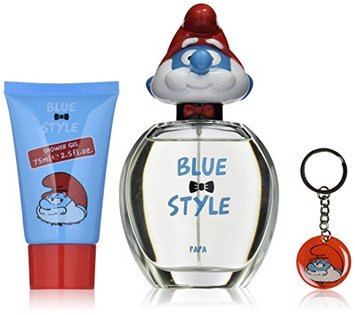 First American Brands The Smurfs Blue Style Papa Gift Set