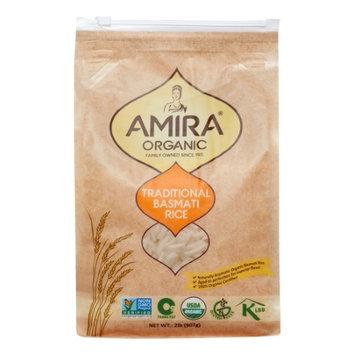 Amira Organic Traditional Basmati Rice 2 lbs