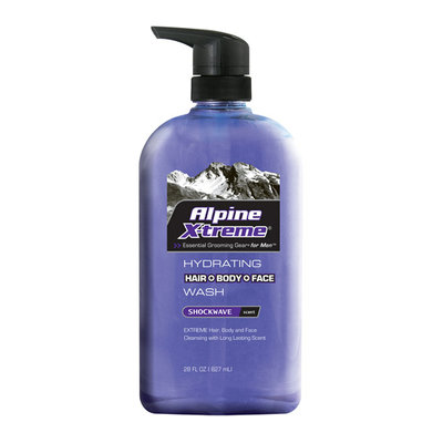 Alpine Xtreme Hydrating Shockwave Scent Hair + Body + Face Wash
