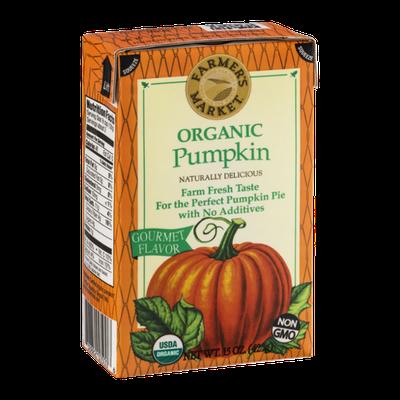 Farmer's Market Organic Pumpkin Gourmet
