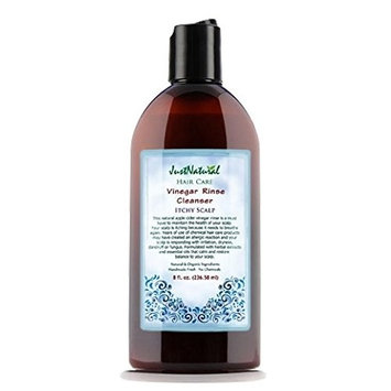 Just Natural Products Vinegar Rinse Cleanser for Itchy Scalp