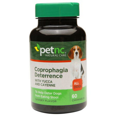 PetNC Dog Coprophagia Deterrence, 60 ea