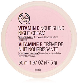 The Body Shop Vitamin-E Nourishing Night Cream for Unisex