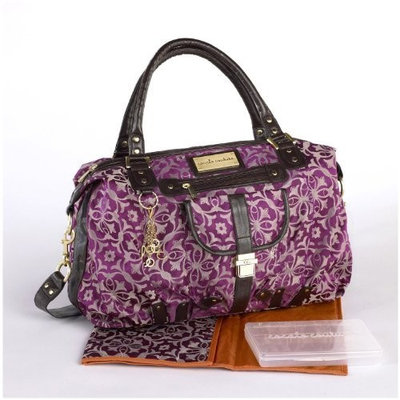 Cocalo Couture Chloe Hobo Diaper Bag, Tile Jacquard (Discontinued by Manufacturer)