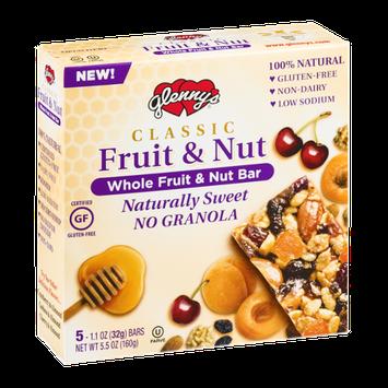 Glenny's Classic Fruit & Nut Whole Fruit & Nut Bars - 5 CT