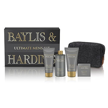 Baylis & Harding Skin Spa Amber and Sandalwood Ultimate Grooming Gift Box